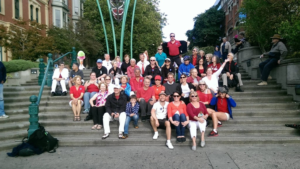 Dance Your Freedom Studios Flash Mob Pic sept 2015 Bastion Square